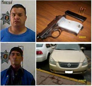 2013-VI-20 Detenido por robo de auto con arma 000
