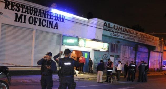 Fueron dos mujeres y dos hombres los ejecutados en bar de for Bar la oficina