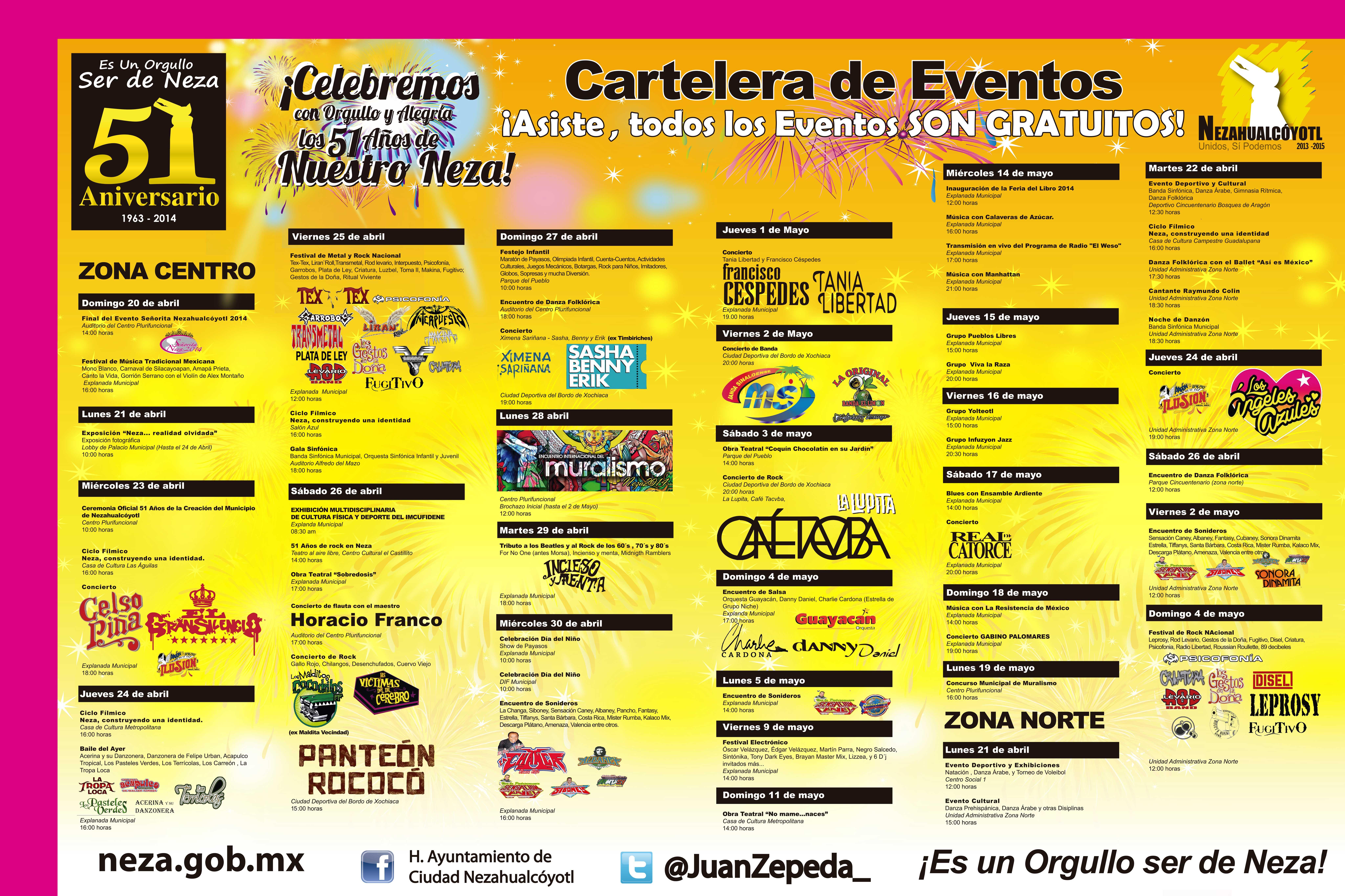 Se presentar n gratis en nezahualc yotl caf tacvba for Cartelera de cinepolis en plaza jardin nezahualcoyotl