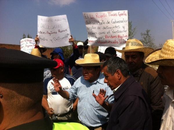 A  balazos policías de Chicoloapan intimidaron a ejidatarios que querían recuperar sus tierras