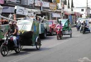bicitaxis y mototaxis