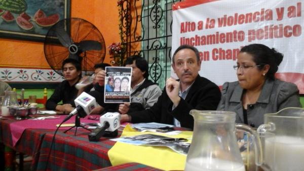 Alto a linchamiento contra antorchistas en la UACh