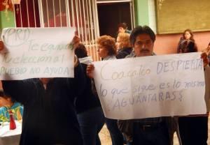 Coacalco protesta