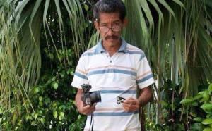 Ismael Díaz foto publicado por el diario Olmeca