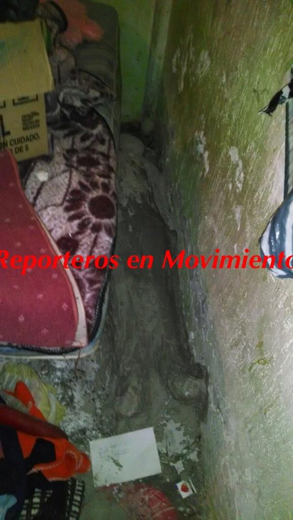 Otro Feminicidio más en Chimalhuacán, pero ahora la cubren con cemento