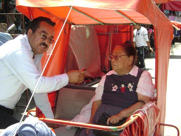 Los Reyes 2009 Jesus esquivel Notimex entrevista a Margarita Ceron Nequiz