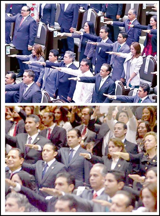 Diputados protestan