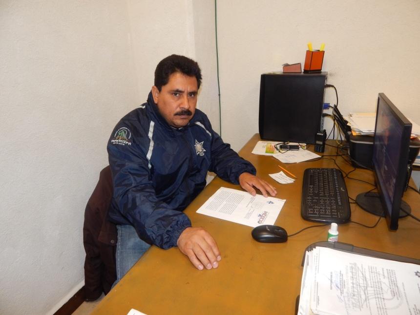 Director de Seguridad Pública de Teletlixpa