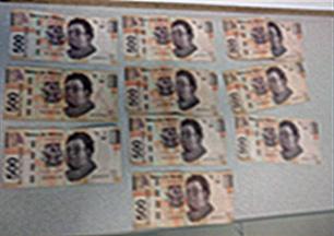 5 mil pesos en efectivo(1)