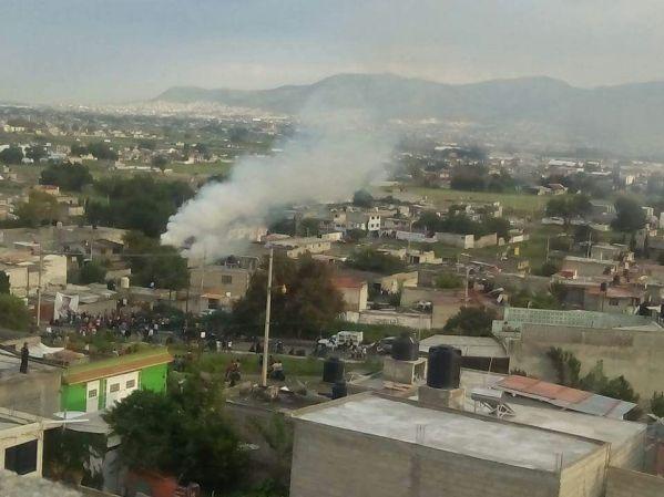 Explosión en Túltepec
