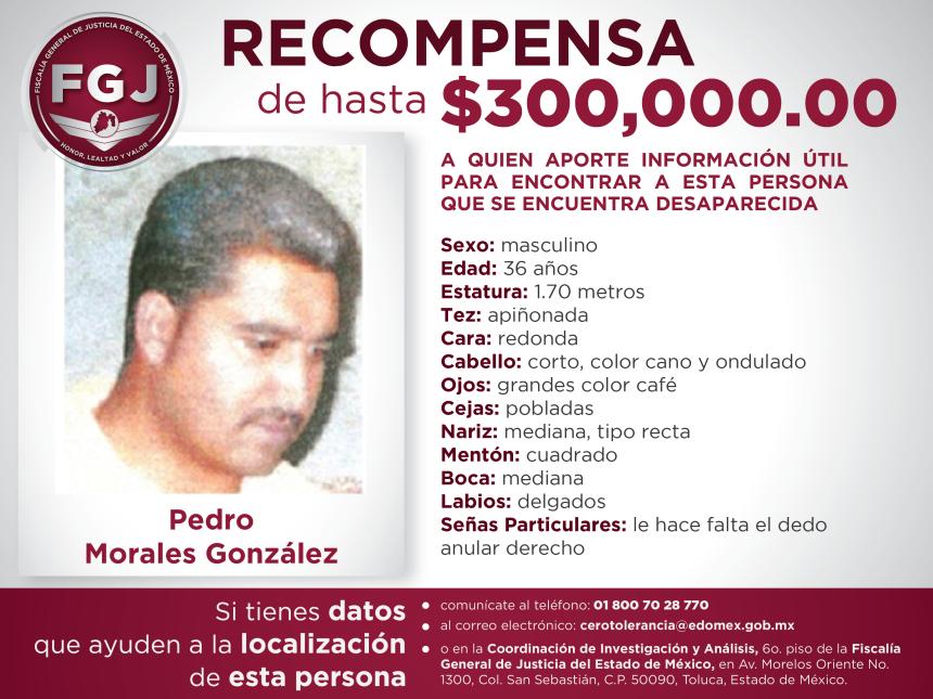 Recompensa Pedro Morales Gonzalez-01