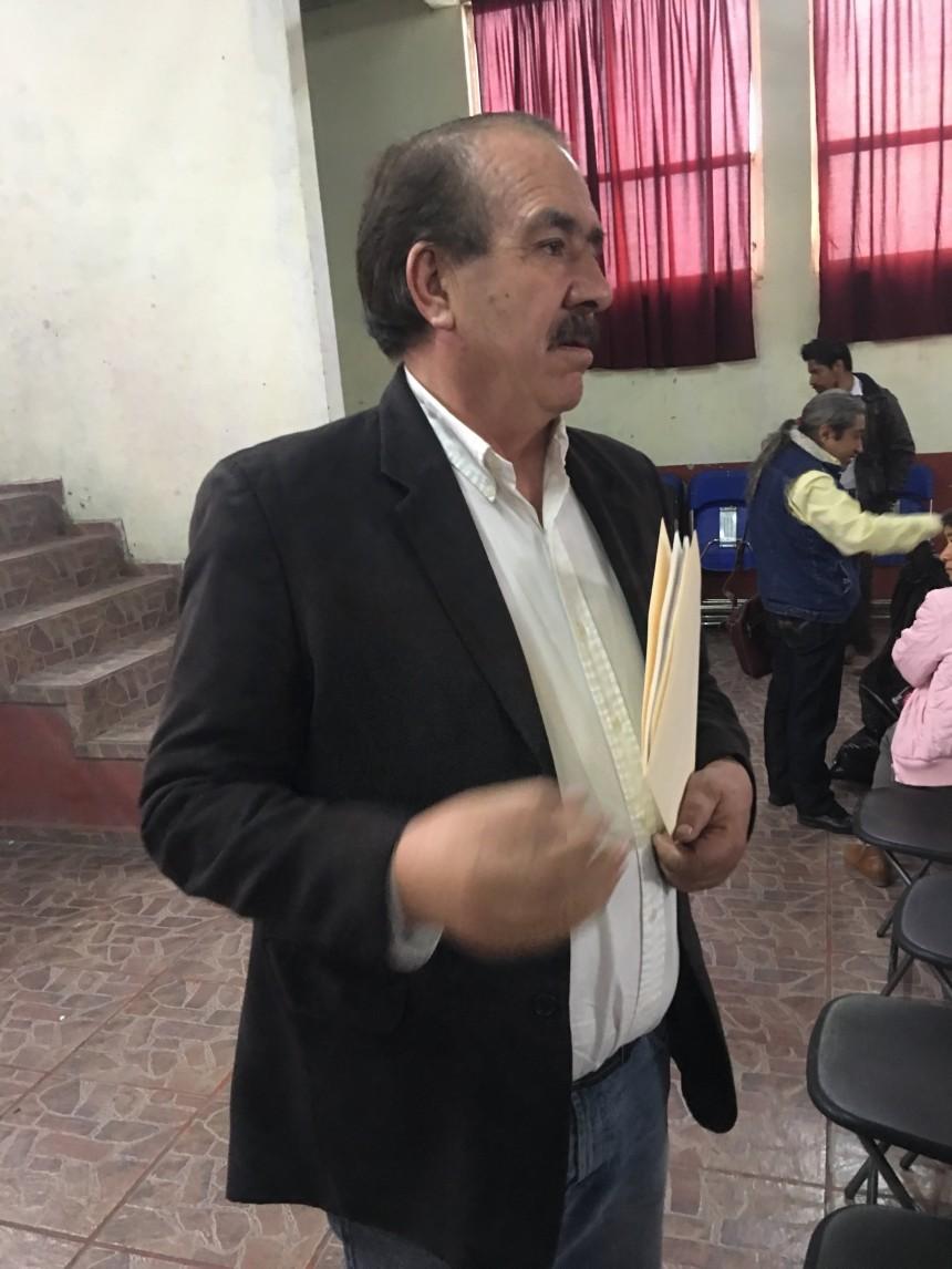 Felipe Rodríguez Aguirre dirigente de UPREZ